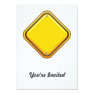 ABC - Paper 5x7 Paper Invitation Card