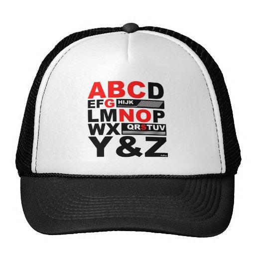 ABC SONG TRUCKER HATS