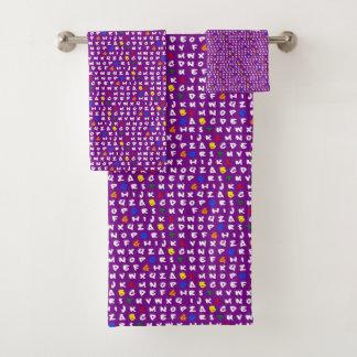 ABCD'S LGDBTQ'S! RAINBOW Towels