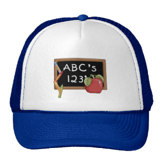 Abcs 123s Tshirts and Gifts Mesh Hats