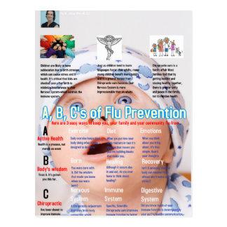 ABC's Flu Prevention Chiro.jpg Postcard