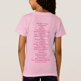 ABC's of Girl Power T-Shirt