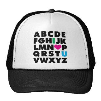 ABC's of Love Cap