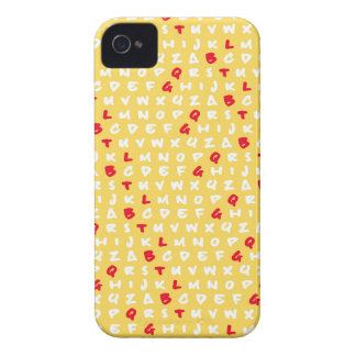 Abc's yellow Case-Mate iPhone 4 case