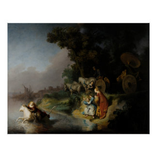 Abduction of Europa by Rembrandt Print