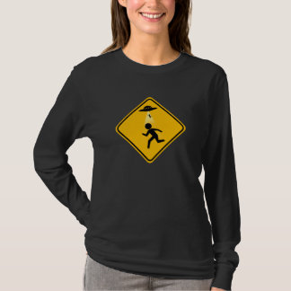 Abduction Road Sign T-Shirt