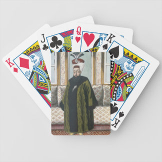 Abdul Hamid I (1725-89) Sultan 1774-89, from 'A Se Bicycle Playing Cards