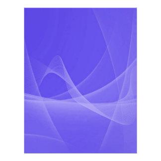 ABDWS OCEAN BLUE ABSTRACT DIGITAL SWIRLS WAVES BAC FLYER DESIGN