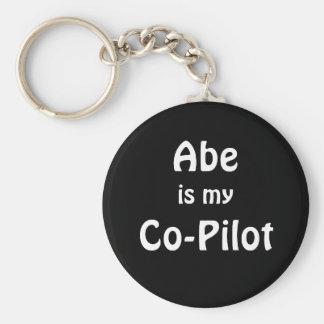 Abe Co-Pilot Keychain