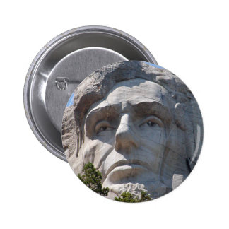 Abe Lincoln 6 Cm Round Badge