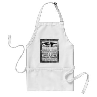 Abe Lincoln Adult Apron