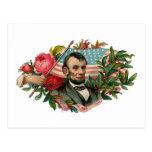 Abe Lincoln Garland Flag
