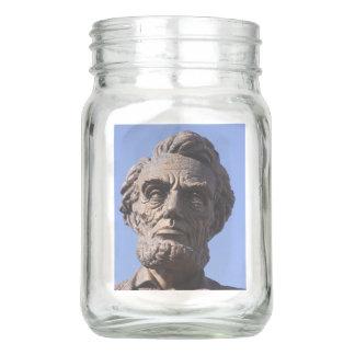 Abe Lincoln Mason Jar