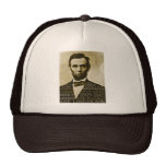 Abe Lincoln Mesh Hat