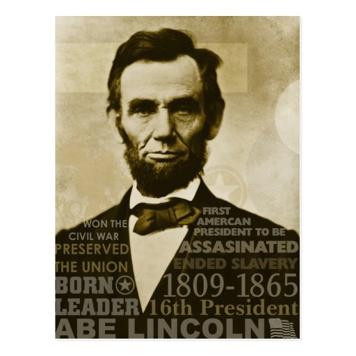 Abe Lincoln Post Cards