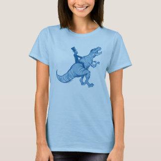 Abe Lincoln Riding A T-Rex Woman's T T-Shirt