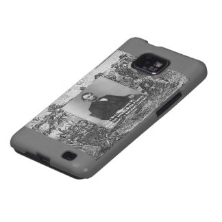 Abe Lincoln Samsung Galaxy Cell Case by Rick Londo Samsung Galaxy SII Case