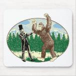 ABE LINCOLN: SASQUATCH HUNTER - Funny Bigfoot Logo