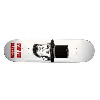 Abe Lincoln skateboard. Stop the bleeding! Skateboards