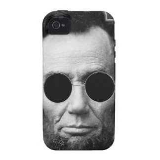 Abe Linoln and Cheap Sunglasses iPhone 4/4S Cover