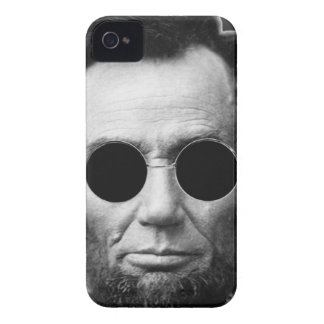 Abe Linoln and Cheap Sunglasses iPhone 4 Case-Mate Case