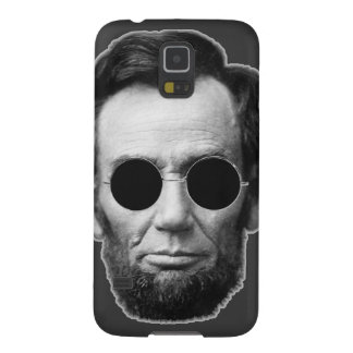 Abe Linoln and Cheap Sunglasses Galaxy S5 Cases