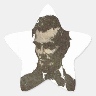 Abe Star Sticker