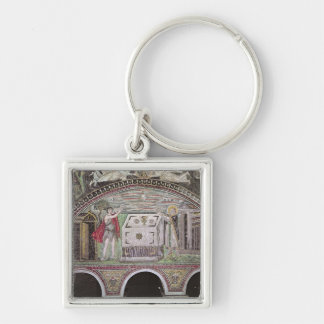 Abel and Melchisedech offering at the Altar Key Ring