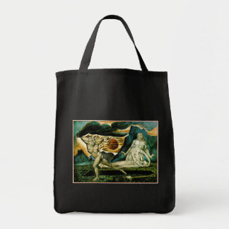 Abel Found by Adam & Eve Grocery Tote Bag