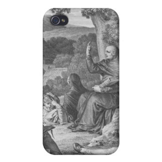 Abelard lecturing in the deserted Champagne iPhone 4 Cover