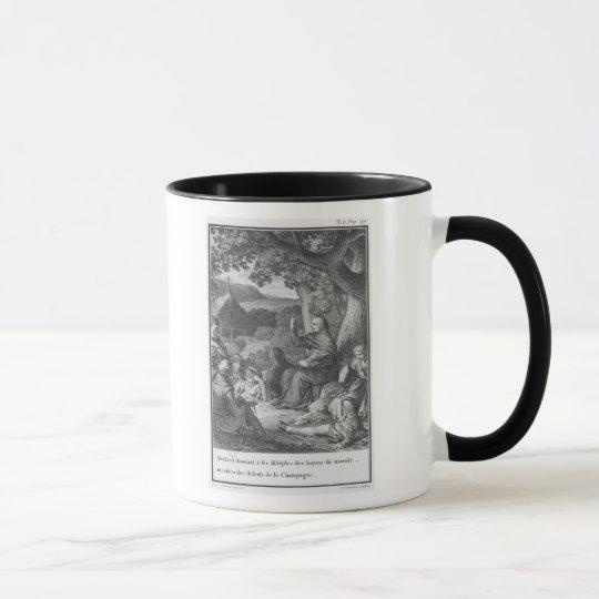 Abelard lecturing in the deserted Champagne Mug