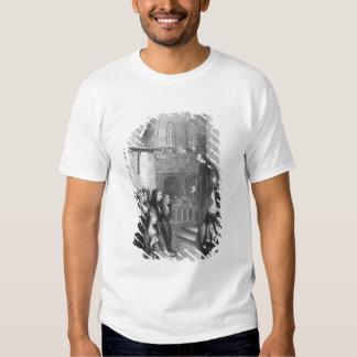 Abelard preaching at Paraclete T-shirts