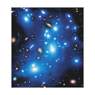 Abell 2744 Pandora Galaxy Cluster Gallery Wrapped Canvas