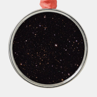 Abell 315 Galaxy Cluster from Wide Field Imager Silver-Colored Round Decoration