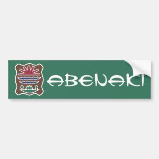 Abenaki Bumper Sticker