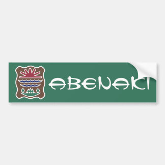 Abenaki Bumper Stickers