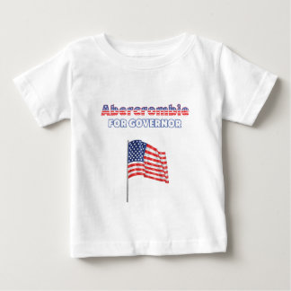 Abercrombie for Governor Patriotic American Flag Baby T-Shirt