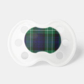Abercrombie Scottish Tartan Baby Pacifier