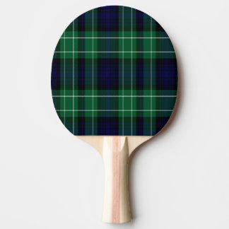 Abercrombie Scottish Tartan Ping Pong Paddle
