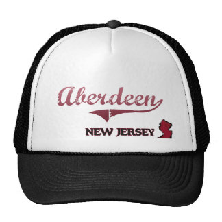 Aberdeen New Jersey City Classic Hats