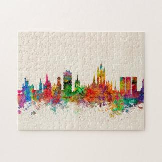 Aberdeen Scotland Skyline Jigsaw Puzzle