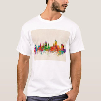 Aberdeen Scotland Skyline T-Shirt