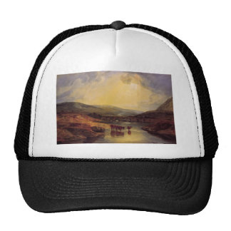Abergavenny Bridge by William Turner Trucker Hats