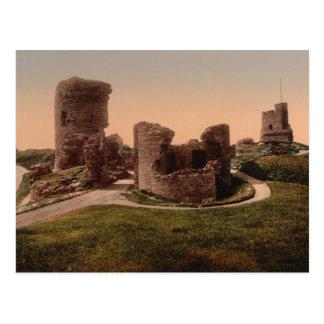 Aberystwyth Castle, Ceredigion, Wales Postcard