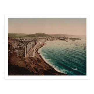 Aberystwyth from Constitution Hill, Wales Postcard