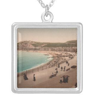 Aberystwyth Seaside, Ceredigion, Wales Custom Necklace