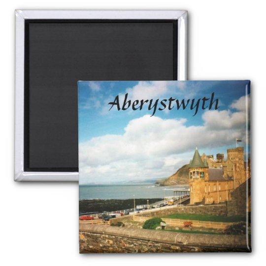 Aberystwyth Square Magnet