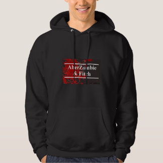 AberZombie and Fitch Men's hoodie - Blood version