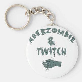 Aberzombie and Twitch Key Chain