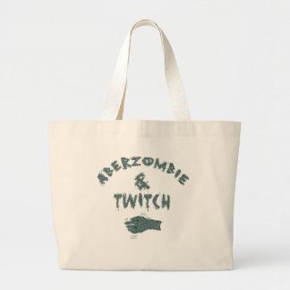 Aberzombie and Twitch Canvas Bag